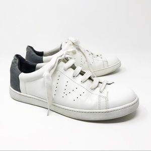 Vince Varin Sneakers Leather White / Gray Size 8